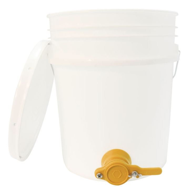 5 Gallon Pail with Honey Gate